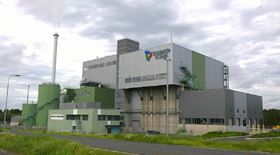 The Tammervoima waste-to-energy facility.