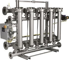 Eaton's modular F-Series consists of multiple filter stations and offers the flexibility needed to adapt to process-related changes. (Image: Eaton)