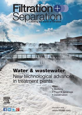 April/May issue of Filtration+Separation