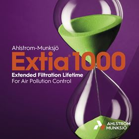 The Extia 1000 is designed to extend filtration lifetime by more than 40%.