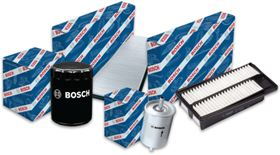 The full range of Bosch automotive filters