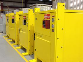 Eight Busch WT0150 Tyr Roots blower packages have been supplied to floating oil & gas facilities in Brazil