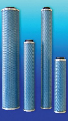 Figure 2. Synteq XP compressed air filters. (Courtesy of Donaldson).