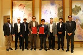 Scientists and experts from NTU and Camfil after signing the agreement. (Image: NTU, Singapore)