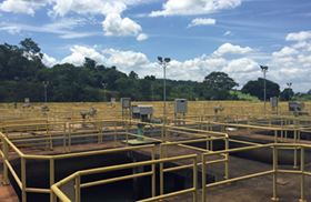 Rotork IQ actuators have been installed at a Brazilian water treatment plant.