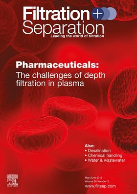 The May/June issue of Filtration + Separation is now available. Subscribe today!