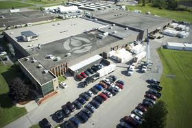 Newterra's head office and 135 000 sq ft manufacturing facility in Brockville, Ontario, Canada.