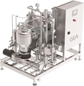 The GEA Plug & Brew separator skids for craft brewers are available in four sizes.