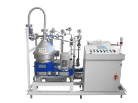 A complete Andritz separator system.