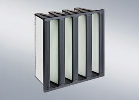 The Aircube Eco 4V ePM1 60% is a compact air filter for indoor air in buildings and processes.