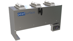 The PearlSurface is a UV-C LED method for surface disinfection, designed for automated non-contact, non-chemical disinfection of high-touch devices and PPE.