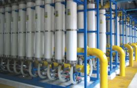 The Datong plant chose ultrafiltration as the pre-treatment solution.