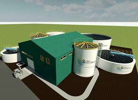 GWE has designed a new wastewater treatment plant for a Russian starch factory.