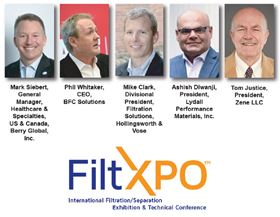 Leading experts will discuss the best ways filtration can address today's societal challenges such as the pandemic, environmental sustainability and climate change.