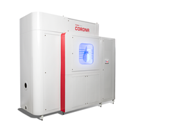 The Flowrox Corona is an industrial water treatment technology which replaces chemicals with non-thermal plasma.