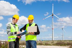 Wind power utilises energy from the appropriate turbine driven by the natural force
