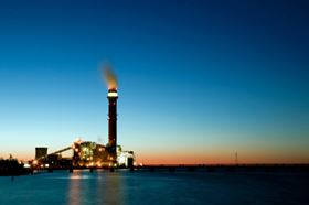 The combustion of sulphur containing fossil fuels requires downstream flue gas cleaning.