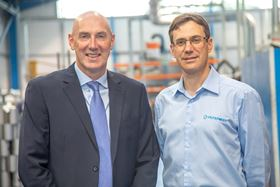Andy Bews, Carter Environmental Engineers managing director (left) and James Stansfield, Filtermist International CEO (right).
