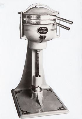 In 1894, Swedish engineer Gustaf de Laval patented the first centrifugal milk cream separator,
