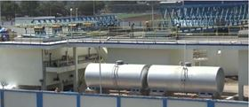 The current common effluent treatment plant in Jetpur, India, that will be extended with NX Filtration's direct nanofiltration membranes.