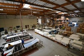 Synder Filtration HQ Manufacturing Facility in Vacaville, CA, USA.