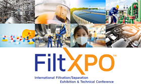 FiltXPO will have technical presentations by more than 30 industry experts.