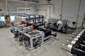 The Norwater factory where Hoyer motors are being used in reverse osmosis systems.