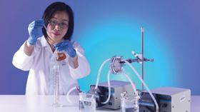 Dr. Linda Zou is working on ways to improve the efficiency of graphene-based membranes.
