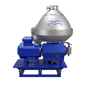 The Alfa Laval OF 900 has a centre-to-centre flow path and a hermetic design.