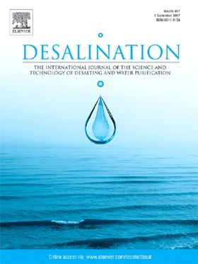 Desalination using gas hydrates
