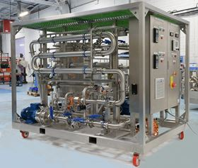 Axium Process' new plug and play mobile membrane filtration pilot plant.