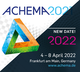 The organisers see the postponement as an opportunity to create a diverse, lively and multi-sensorial ACHEMA 2022.