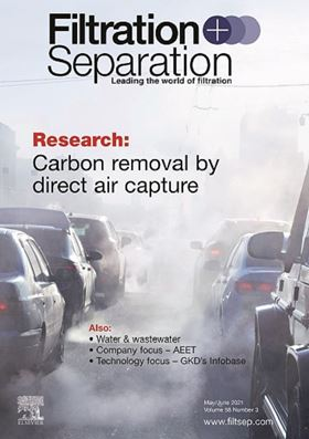 The latest issue of Filtration+Separation is now available. Subscribe today.