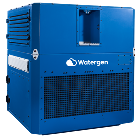 World Vision will use Watergen's GEN-350, a medium scale, highly mobile water generator in South Africa.