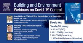 There will be two presentations during the first webinar, followed by a question and discussion session.