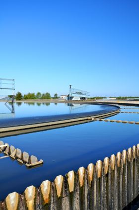 Clean water and wastewater treatment make up the largest end-use application sector.