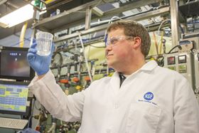 Ben Kaczmarek tests drinking water treatment systems at NSF International for NSF certification to the new lower lead threshold. (Image: NSF International)