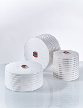 The new double-layer stacked disc cartridges from the BECODISC BX range provide two-step filtration in a single housing.