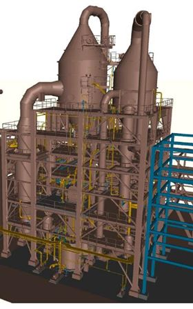 Veolia will treat 550 tonnes per day of precipitator ash through its Enhanced Chloride Removal Process (ECRP).