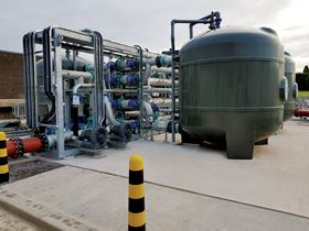 A fully automated 4v2800 FilterClear TSR plant installed at Ledbury STW, Severn Trent Water.