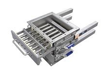 The Eriez easy to clean DSC Grate in Housing Magnet.
