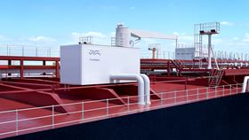 This is the first design approval for the installation of ballast water treatment systems on the weather deck.