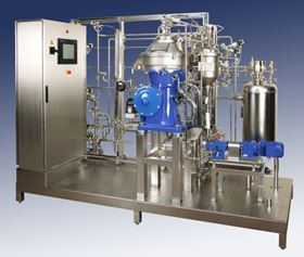 Alfa Laval's Culterfuge 100 cell separation system.