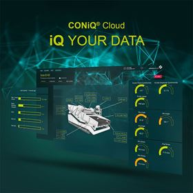 CONiQ Cloud covers data ingestion from edge devices, provides secure data storage within the Cloud, and professional user and device management.
