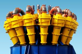 The new Cavex hydrocyclones are designed to withstand severe abrasion
