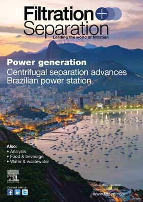 Sign up to receive your copy of Filtration+Separation magazine