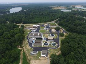 Evoqua's VertiCel® Biological Treatment System installed at the Prattville, Alabama wastewater treatment facility was designed to expand treatment capacity and achieve nitrogen and phosphorus removal limits.