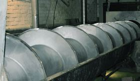 The sludge screw press at Stora Enso's Anjala mill after the Andritz upgrade.