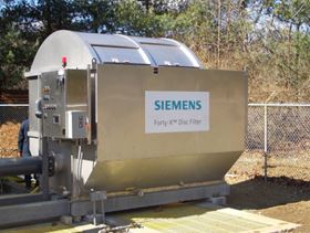 Siemens Water Technologies' Forty-X disc filter