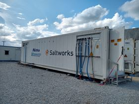The Saltworks' team operated the plant both on-site and remotely despite the ongoing international challenges of the Covid-19 pandemic.